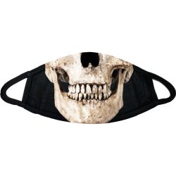 Skull Halloween Face Mask - skull-halloween-face-mask