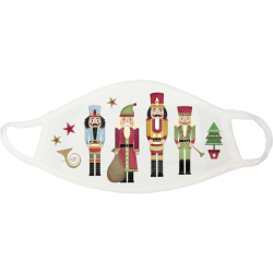 Nutcrackers Christmas Face Mask - nutcrackers-christmas-face-mask
