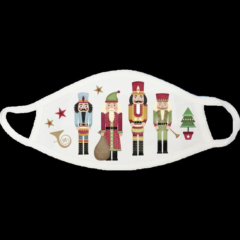 Nutcrackers Christmas Face Mask - nutcrackers-christmas-face-mask