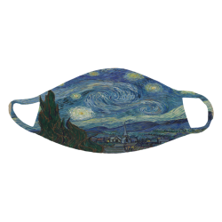 "Van Gogh's ""The Starry Night"" Face Mask - van-gogh-s-the-starry-night-face-mask"